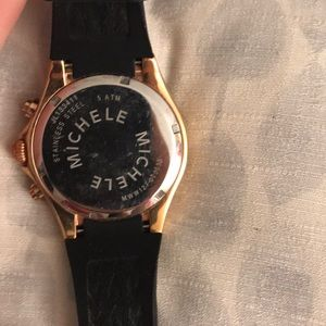 Michele Accessories - Michele Rose Gold/Jelly Watch